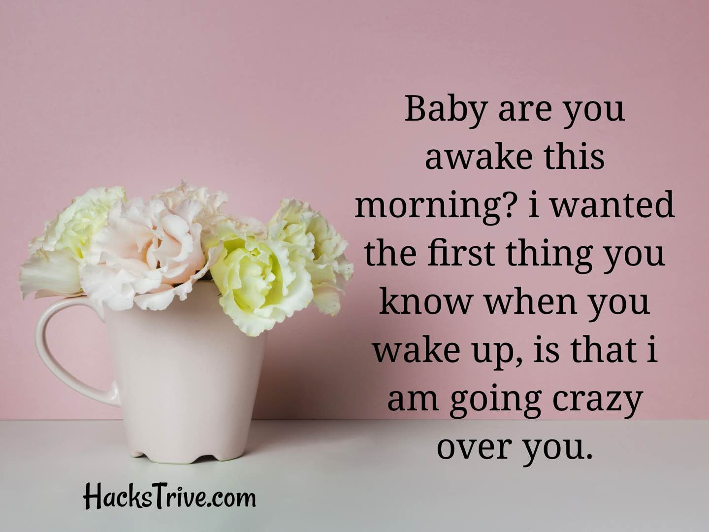 Romantic Good Morning Message For Her