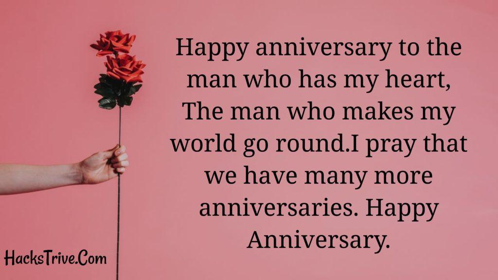 Heartfelt Anniversary Wishes For Boyfriend