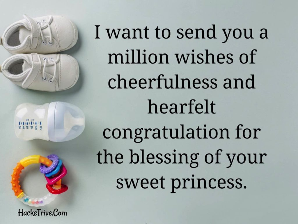 Congratulations Wishes For New Born Baby Girl