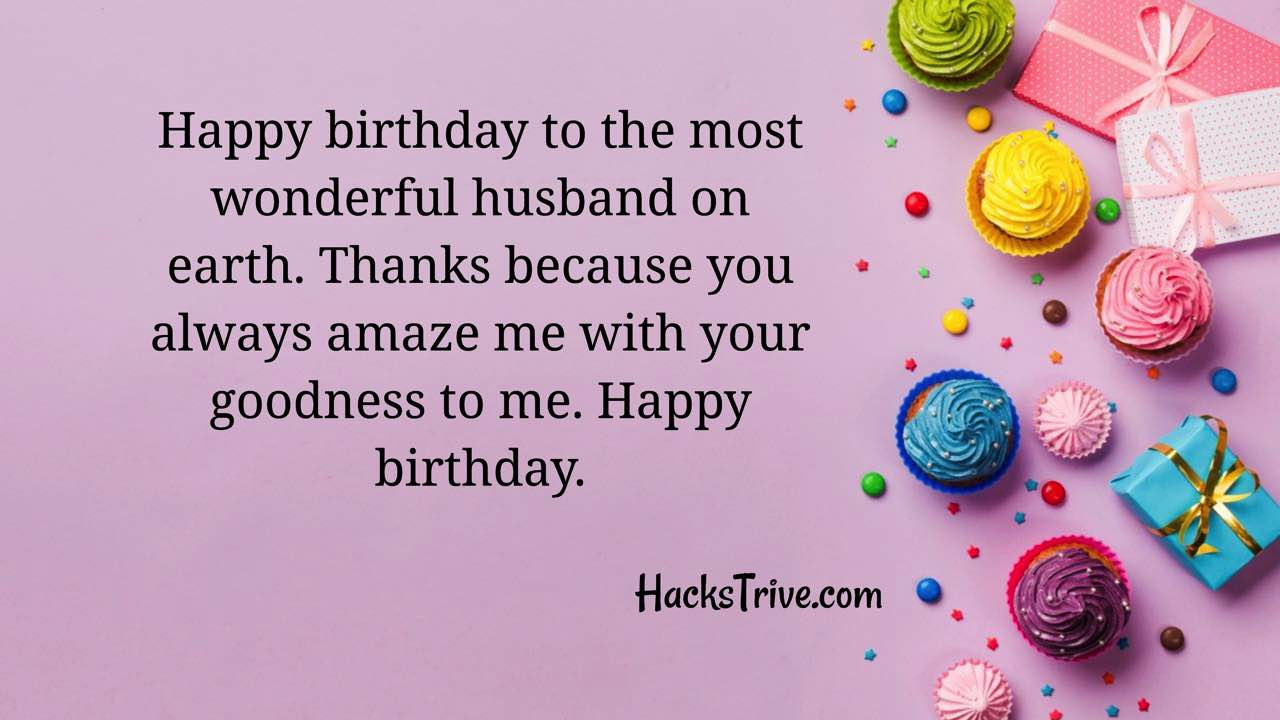 Heartfelt Birthday Wishes For Husband Romantic Funny