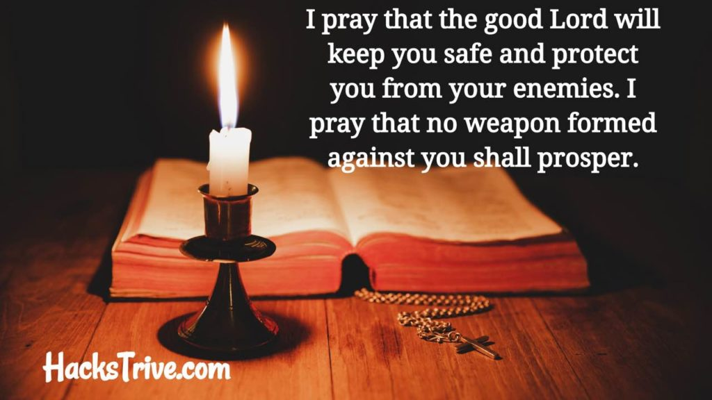 Prayer For My Husband Protection