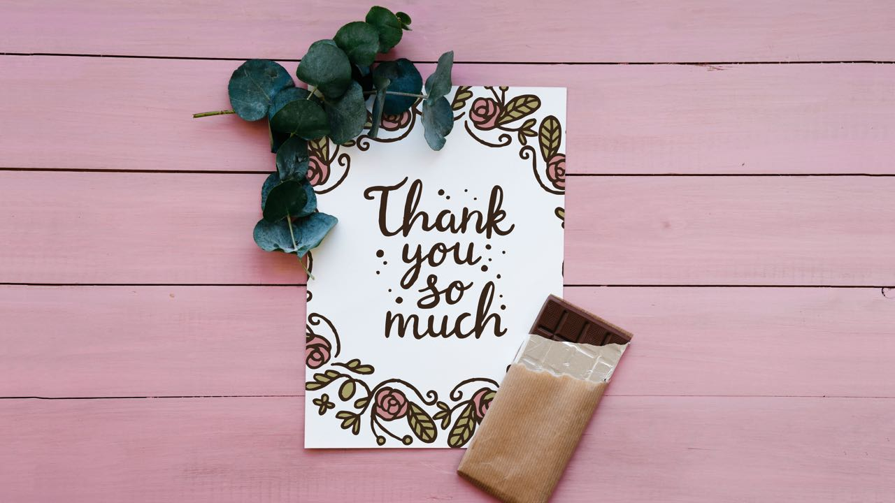 Inspirational Thank You Messages For Friends