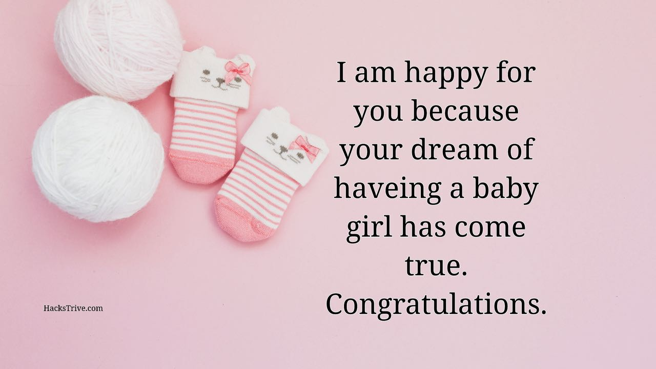Pregnancy Wishes For A Baby Girl