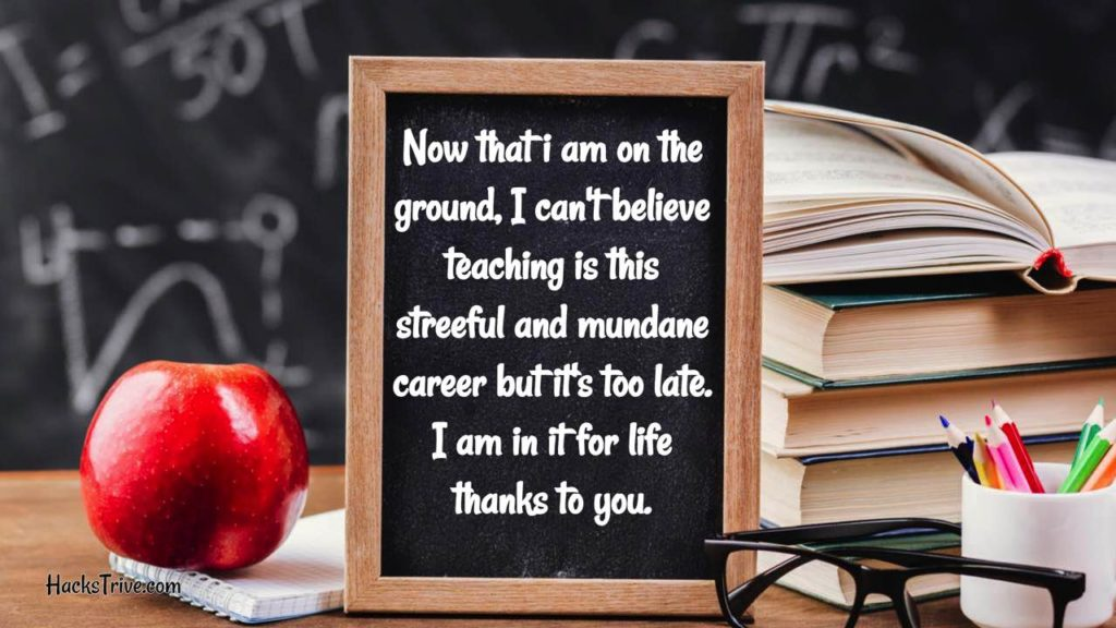 Funny Thank You Messages For Teachers