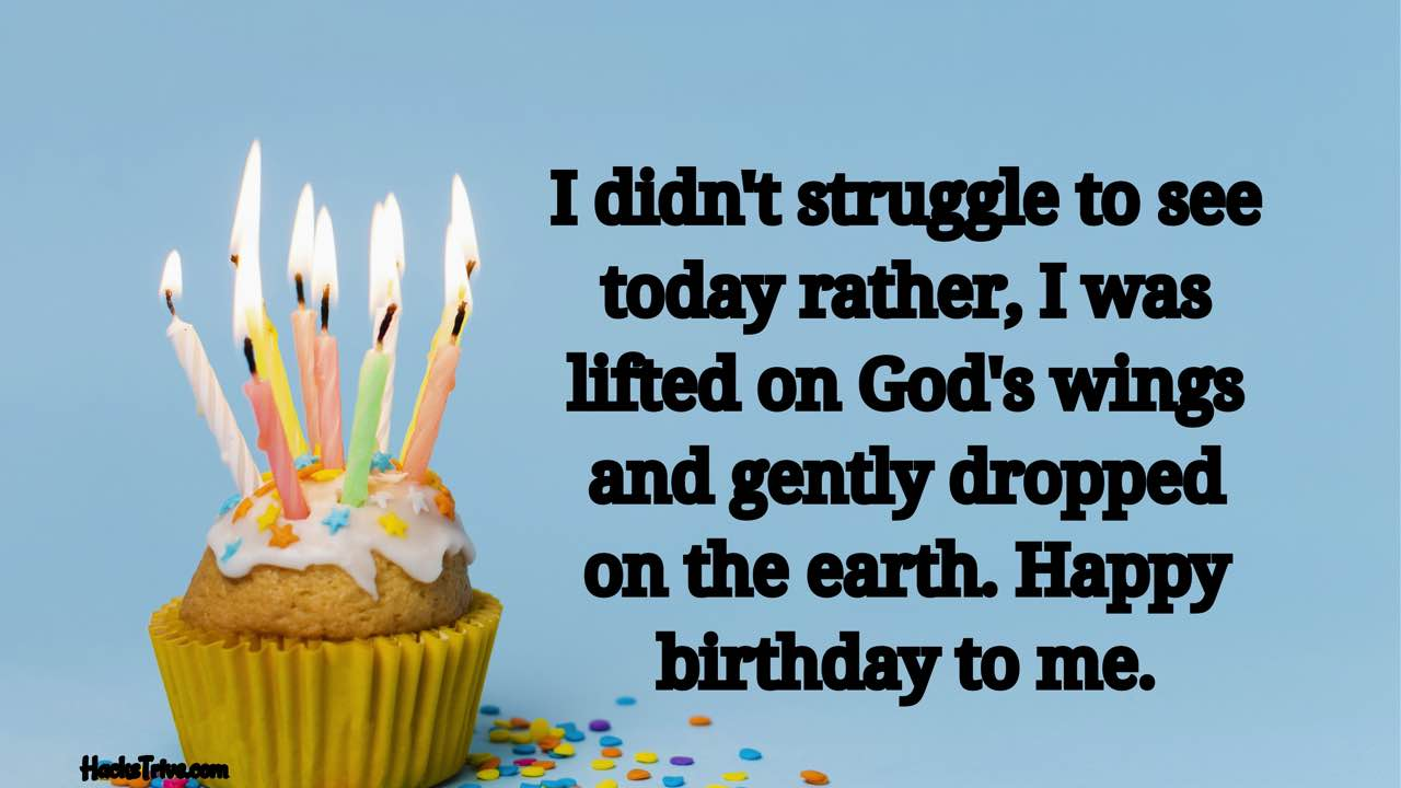 Inspirational Birthday Wishes For Myself