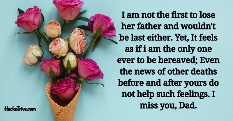 I Miss You Messages for Dad After Death