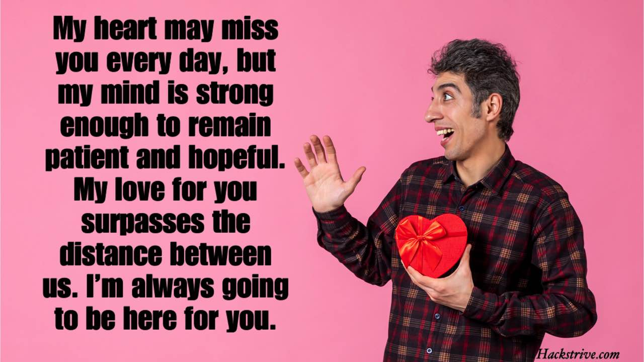 Long-distance Relationship Messages For Him