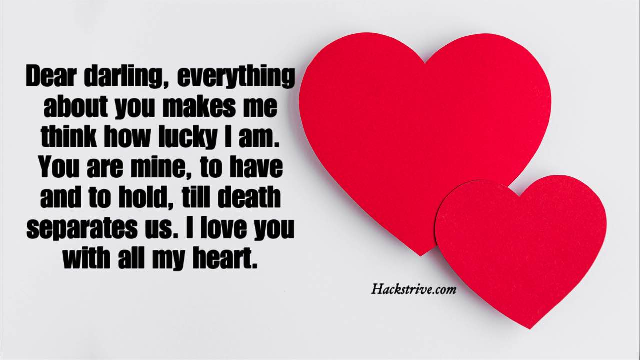 I Love You with All My Heart Messages